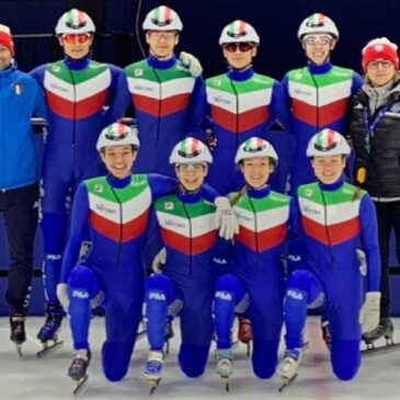 Short Track, tre bronzi per l'Italia ai Mondiali Junior di Montreal!
