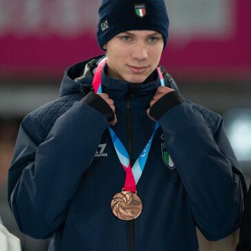 Olimpiadi Giovanili Invernali– Thomas Nadalini bronzo nella staffetta mista !!